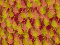 Autumn grunge leafs Royalty Free Stock Photo