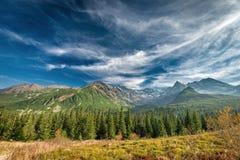 Autumn in Hala Gasienicowa, Tatra mountains, Poland Royalty Free Stock Photos