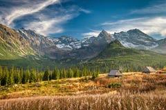 Autumn in Hala Gasienicowa, Tatra mountains, Poland Stock Image
