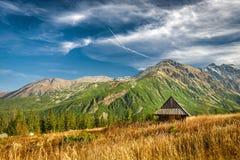 Autumn in Hala Gasienicowa, Tatra mountains, Poland Stock Photo