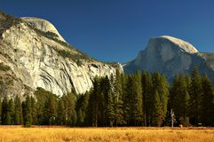 Autumn at Half Dome Royalty Free Stock Images