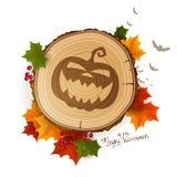 Autumn Halloween Background Imagen de archivo libre de regalías