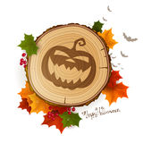 Autumn Halloween Background Royalty Free Stock Image