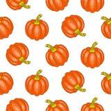 Autumn halloween seamless vector pattern. Stock Images