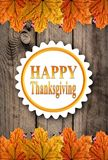 Autumn Happy Thanksgiving Background Immagini Stock