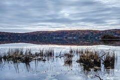Autumn Harriman State Park, Estados de Nova Iorque imagens de stock
