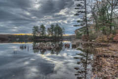 Autumn Harriman State Park, New York State Royalty Free Stock Photos
