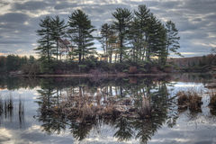 Autumn Harriman State Park, New York State Royalty Free Stock Photo