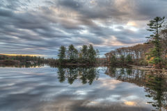 Autumn Harriman State Park, New York State Royalty Free Stock Photography