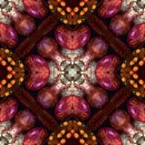 Autumn Harvest Colors Seamless Tile Fotos de archivo libres de regalías