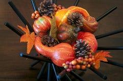 Autumn Harvest Decoration Stock Photo