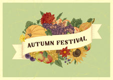 Autumn harvest festival. Royalty Free Stock Images