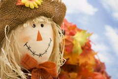 Autumn Harvest Scene Royalty Free Stock Photos