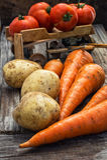 Autumn harvest vegetables Royalty Free Stock Photos
