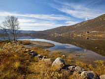 Autumn at Haukeli Stock Photography