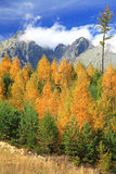 Autumn at High Tatras mountains, Slovakia Stock Image