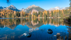 Autumn in High Tatras, Slovakia Stock Images