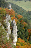 Autumn Hill. Landscape, colourful - Sulov, Slovakia Royalty Free Stock Photos