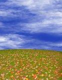 Autumn Hill Stock Photography