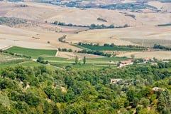 Autumn hillocks - Crete Senesi Stock Photo