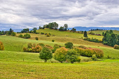 Autumn in the hills Royalty Free Stock Photo
