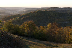 Autumn hills Stock Images