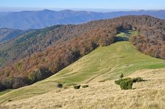 Autumn hillsides. Stock Photo