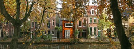 Autumn in Holland. Autumn in Utrect, The Netherlands Royalty Free Stock Photo