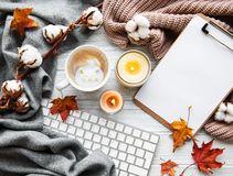 Free Autumn Home Cozy Composition Royalty Free Stock Photography - 161328607