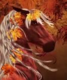 Autumn Horse Royalty Free Stock Image