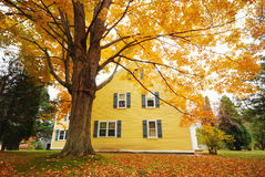 Autumn House Royalty Free Stock Photography