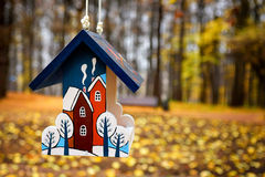 Autumn house Royalty Free Stock Photo