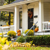 Autumn House Stock Photos