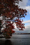 Autumn on the Hudson Royalty Free Stock Image