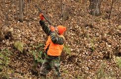 Autumn hunter Stock Image