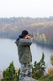 Autumn hunting Stock Photography