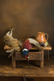 Autumn hunting still life Royalty Free Stock Images
