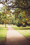 Autumn in Hyde Park, London. Royalty Free Stock Photo