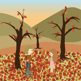 Autumn icon great for any use. Vector EPS10. Great vector Royalty Free Stock Images