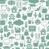 Autumn icons Royalty Free Stock Photography