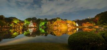 Autumn illumination royalty free stock photo
