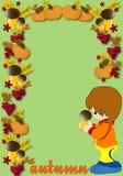 Autumn illustration Stock Photography