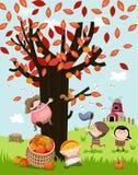 Autumn illustration Royalty Free Stock Image