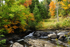 Autumn In New England Stock Photos