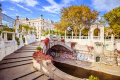 Autumn In Stadtpark - City Park - Vienna Royalty Free Stock Images