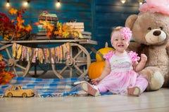 In autumn interior Royalty Free Stock Photo