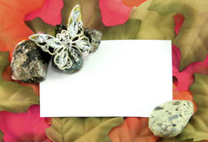 Autumn Invitation Stock Photo