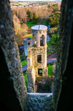 Autumn in Ireland. Aerial view of Blarney Castle Royalty Free Stock Image