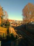 Autumn of italy stock photography