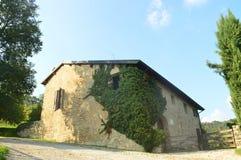 Autumn in italy - farmer house. Farmer house in Italy near the lake Como - Lecco - Montevecchia stock photography